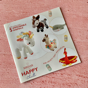 Happy Chenille Book 3, 5 Improbable Animals