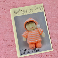 Load image into Gallery viewer, Little Elsie Knitting Pattern by Knitting By Post