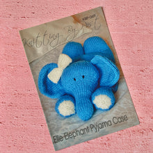 Load image into Gallery viewer, Knitting By Post, Elle Elephant Pyjama Case