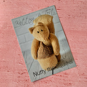 Knitting By Post, Nutty the Squirrel