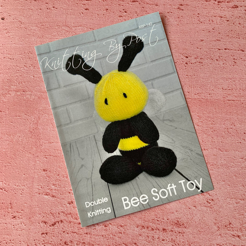 Knitting By Post, Bee Soft Toy