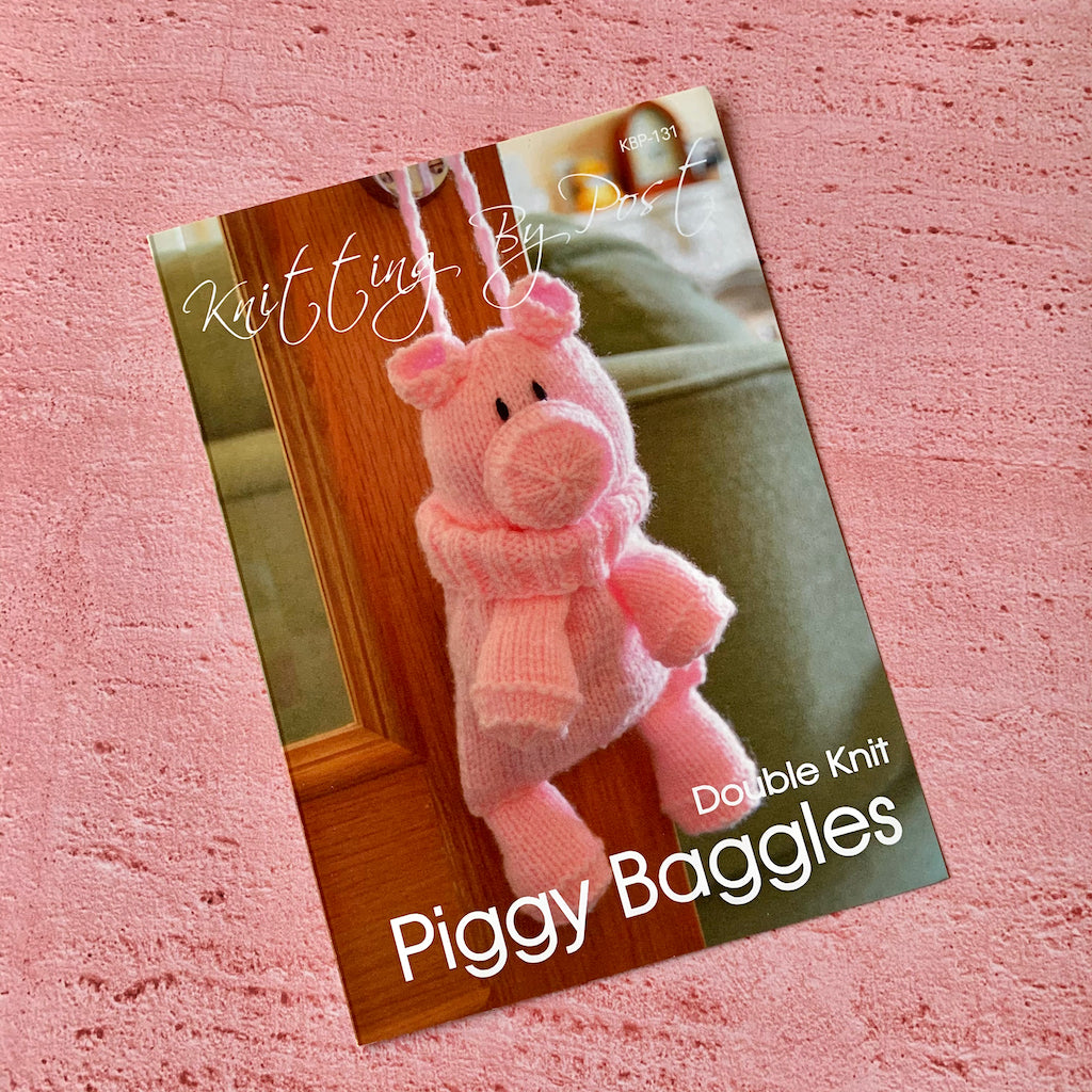 Knitting By Post, Piggy Baggles