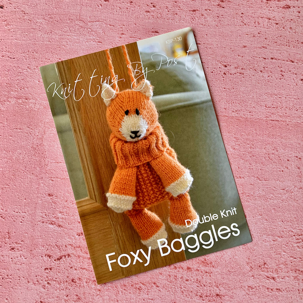 Knitting By Post. Foxy Baggles