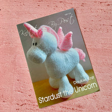 Load image into Gallery viewer, Knitting By Post, Stardust the Unicorn