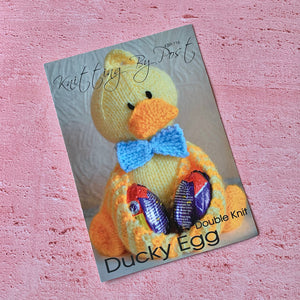 Knitting By Post, Ducky Egg