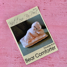 Load image into Gallery viewer, Knitting By Post, Bear Comforter