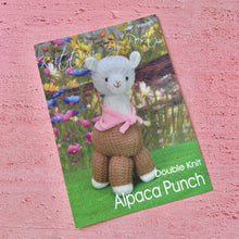 Load image into Gallery viewer, Alpaca Punch Knitting Pattern, Knitting By post