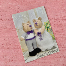 Load image into Gallery viewer, Knitting By Post, Bearly Wed