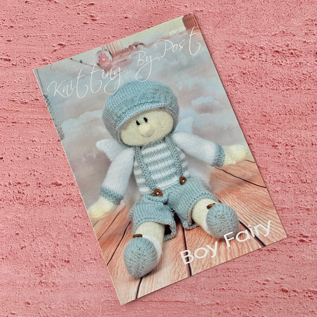 Knitting By Post, Boy Fairy