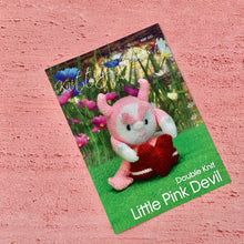 Load image into Gallery viewer, Knitting By Post, Little Pink Devil