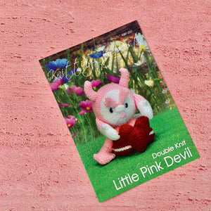 Knitting By Post, Little Pink Devil