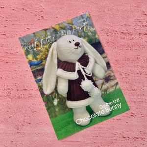 Knitting By Post, Chocolate Bunny