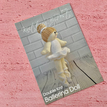 Load image into Gallery viewer, Knitting By Post, Ballerina Doll