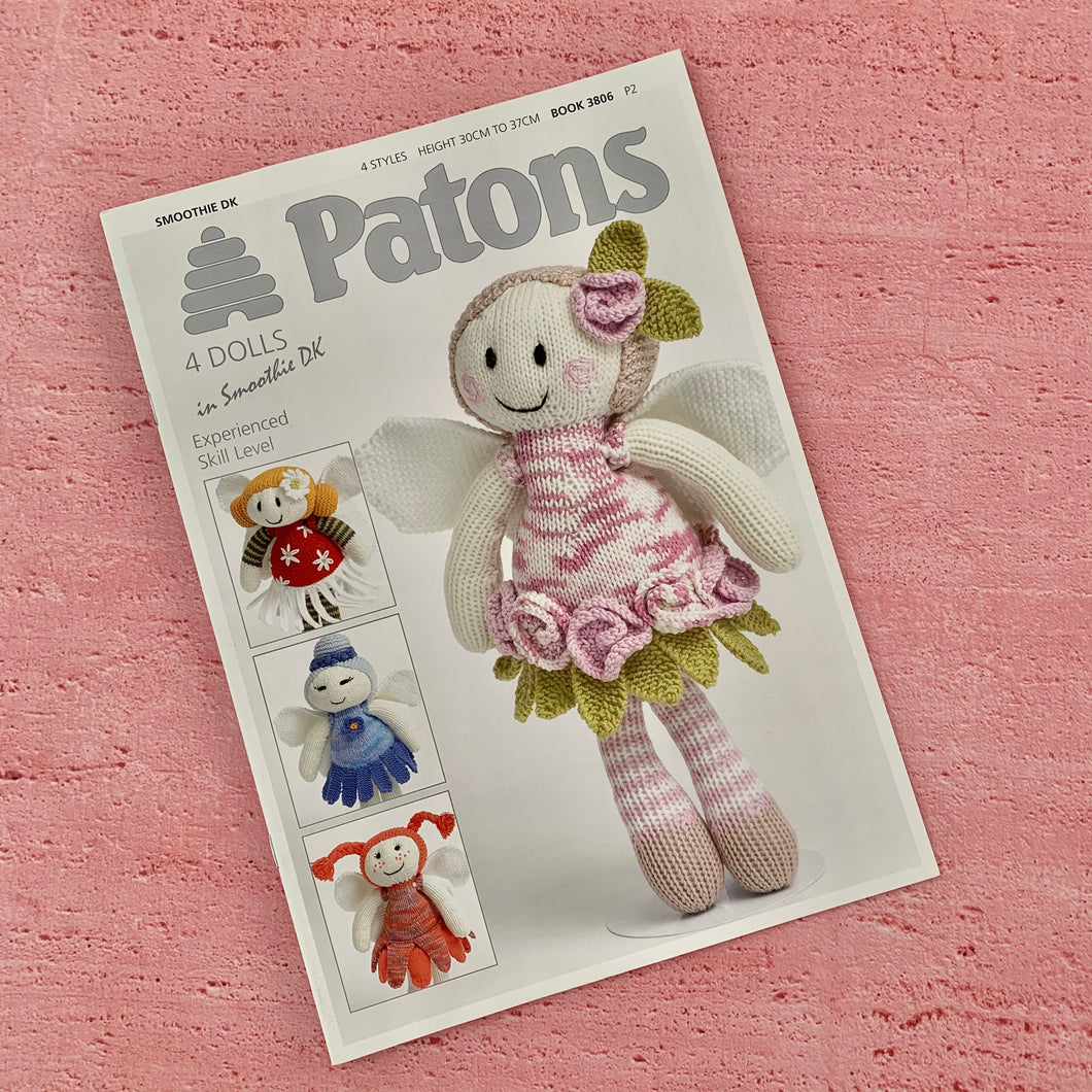 Patons, Book 3806, 4 Dolls