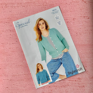 Stylecraft Knitting Pattern 9644