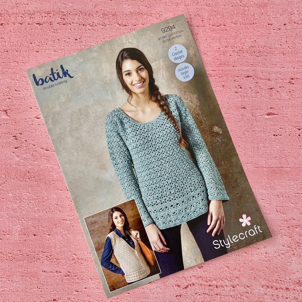 Stylecraft Crochet Pattern 9294