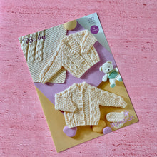 Load image into Gallery viewer, Stylecraft, Baby Aran Knitting Pattern 4772