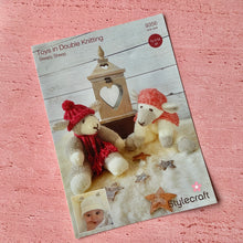 Load image into Gallery viewer, Stylecraft,  Knitting Pattern 9356, Sleepy Sheep, Toy & Hat Set