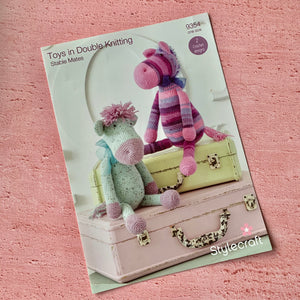 Stylecraft,  Crochet Pattern 9354,  Stable Mates