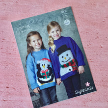 Load image into Gallery viewer, Stylecraft  Knitting Pattern 9309, Christmas Ages from age 1-2  to 10-11