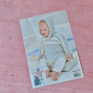 Stylecraft, Bambino Knitting Pattern 9502, 2 Easy Knit Designs