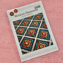 Load image into Gallery viewer, Mexican Diamonds, Crochet Blanket