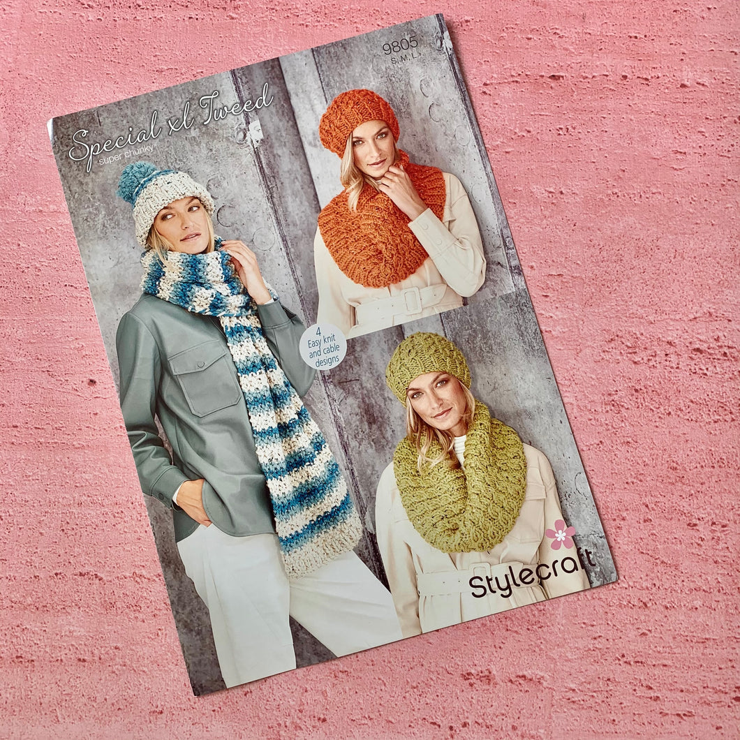 Stylecraft, Knitting Pattern 9805