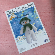 Load image into Gallery viewer, DMC Crochet, The Snowman, Raymond Briggs.