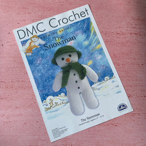 DMC Crochet, The Snowman, Raymond Briggs.
