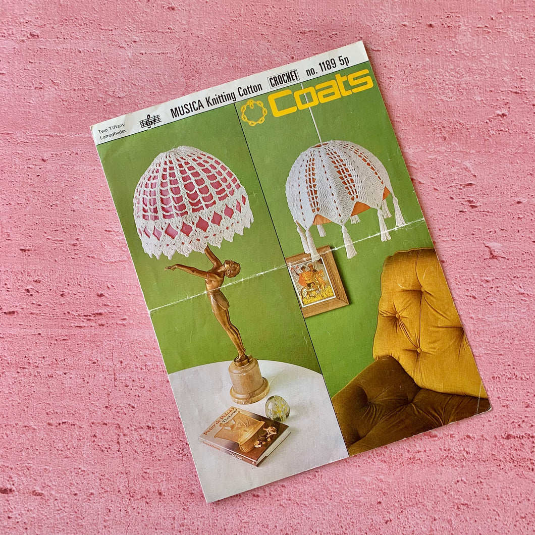 Coats, Pattern 1189, Two Tiffany Lampshades