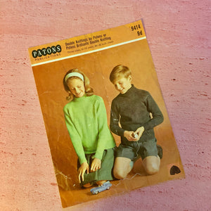 Patons, Knitting Pattern 9414