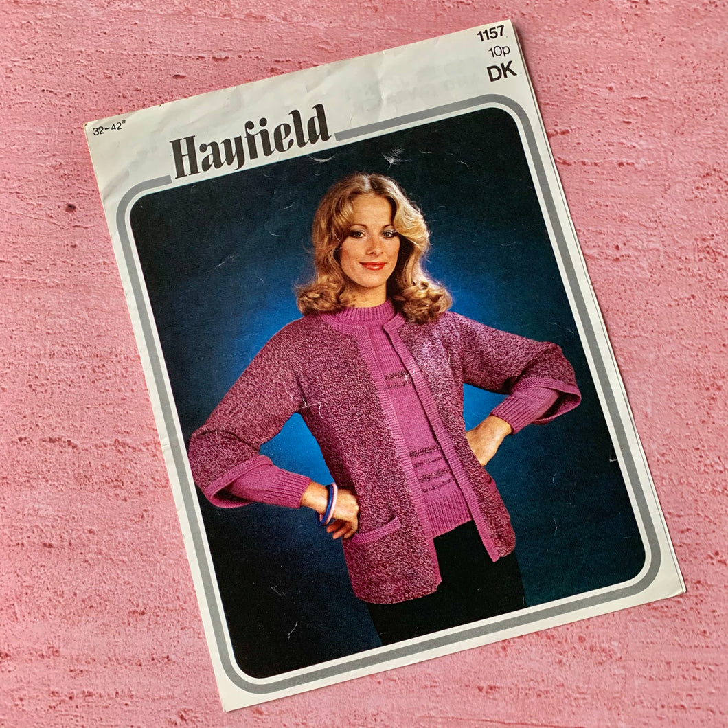 Hayfield, Knitting Pattern 1157