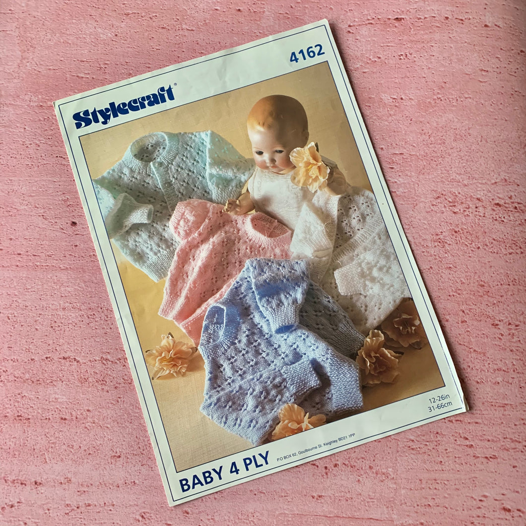 Stylecraft, Knitting Pattern 4162
