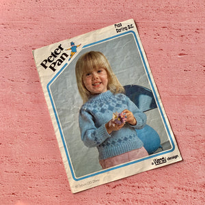 Peter Pan, Knitting Pattern P453