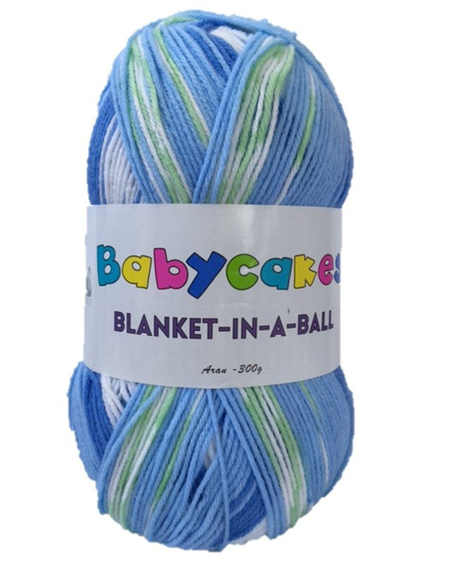 Cygnet, Babycakes Blanket in a Ball, Aran, Blueberry Muffin. 300g