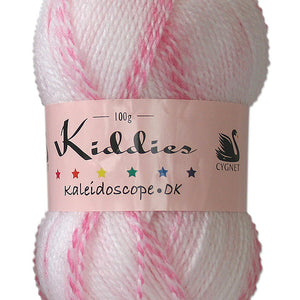 Cygnet, Kiddies Kaleidoscope DK. 100g. Strawberry Ripple.