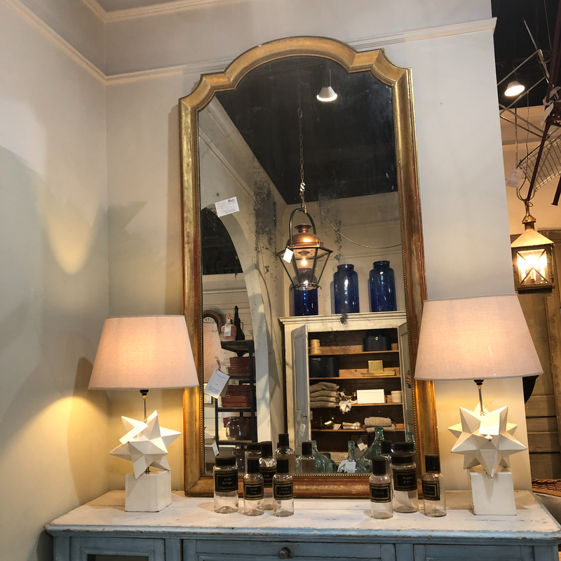 Huge 19th Century Mirror
