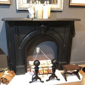 Cast Iron Fireplace Surround