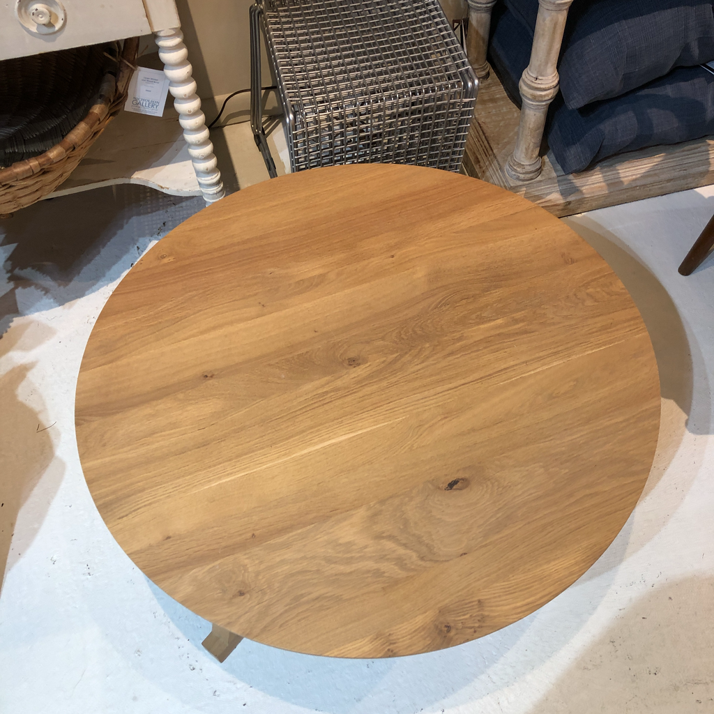 Oak Tripod Table