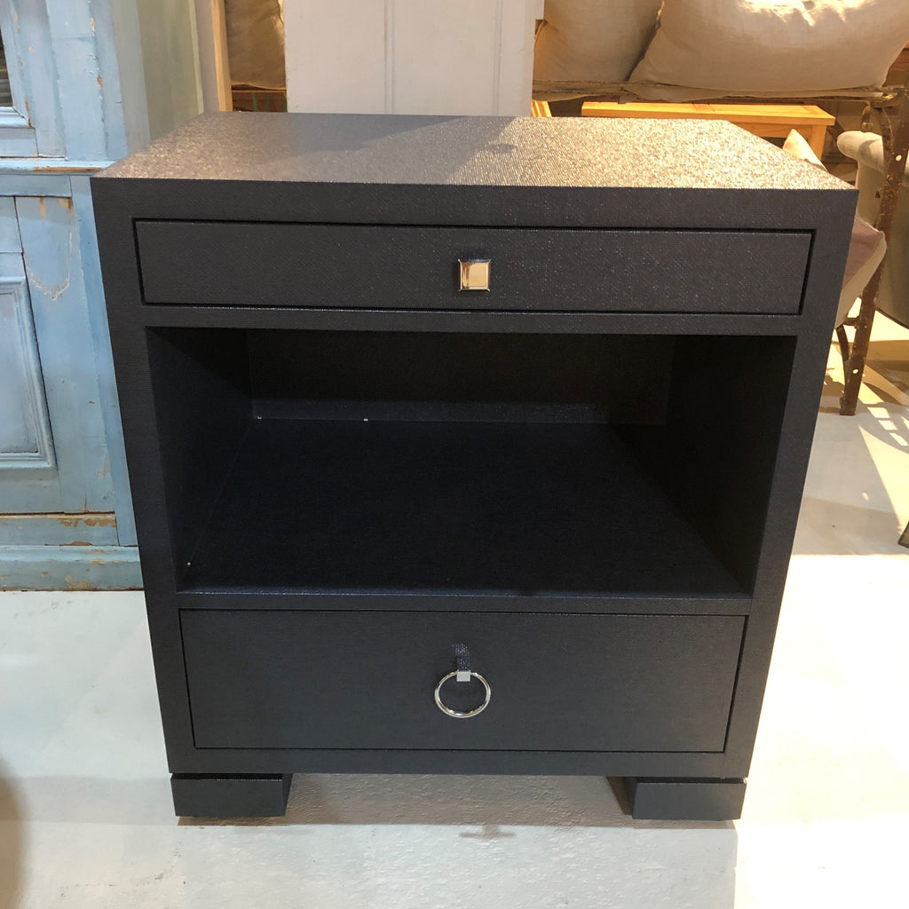 Frances 2-Drawer Side Table