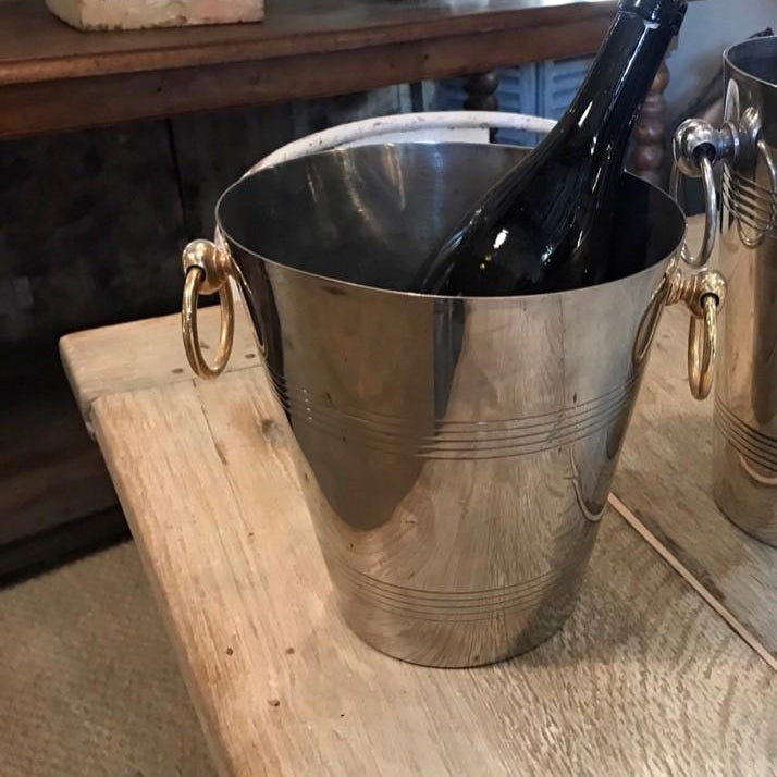 Silvered Petite Ice Bucket