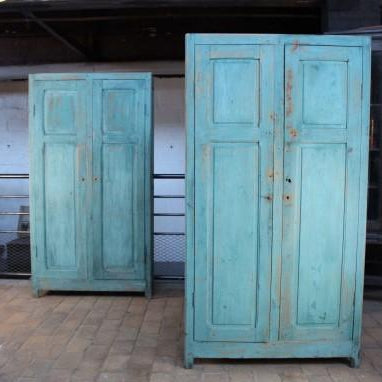 Blue-green Painted Cabinet
