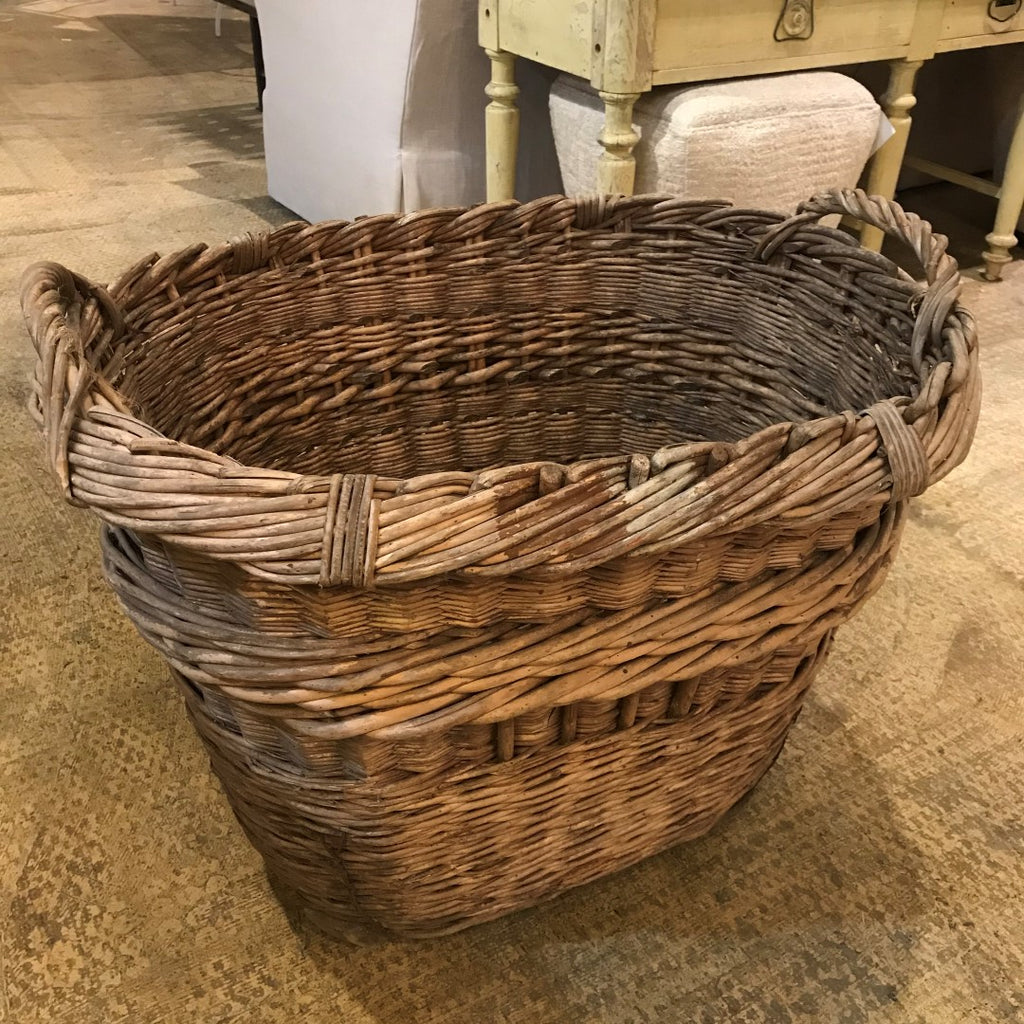 Large Champagne Harvest Basket