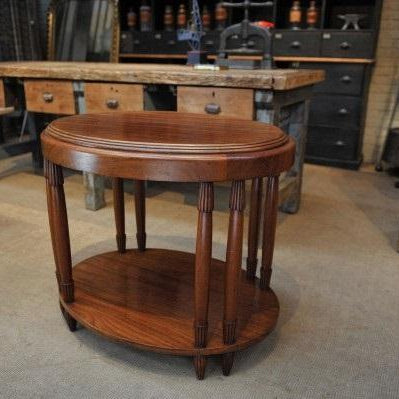 Art Deco Oval Table