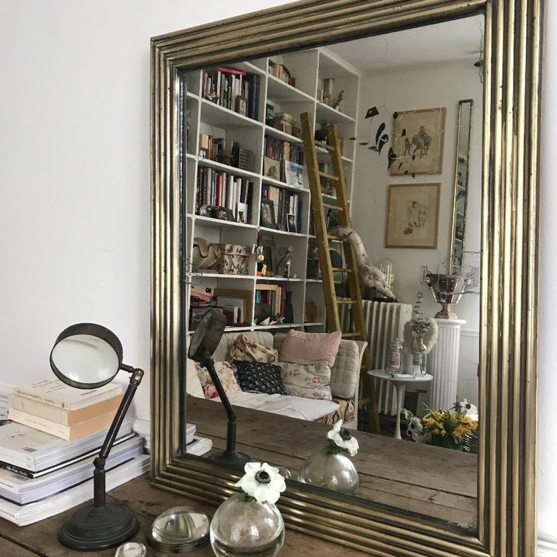 Mercury Brass Mirror