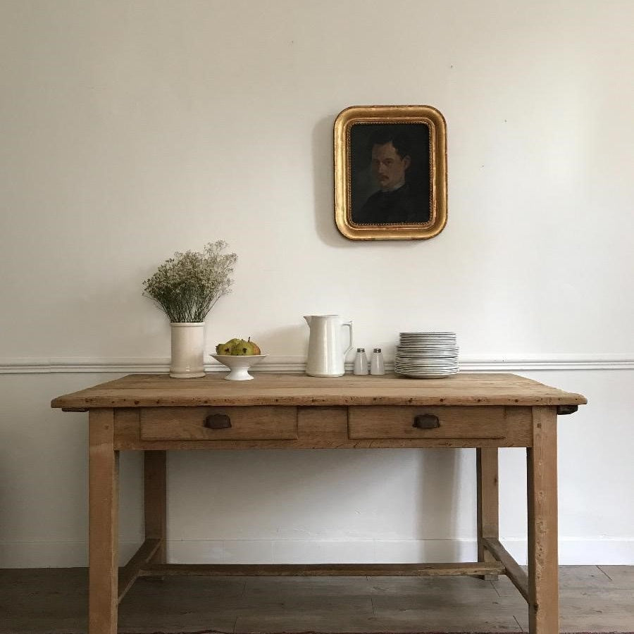 Pine & Oak Table