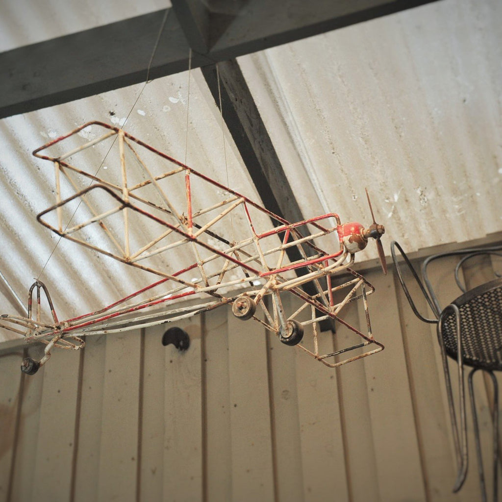 Metal Airplane Model