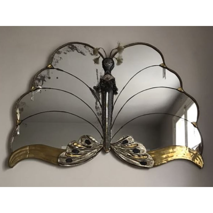 Unusual Butterfly Shaped Mirror
