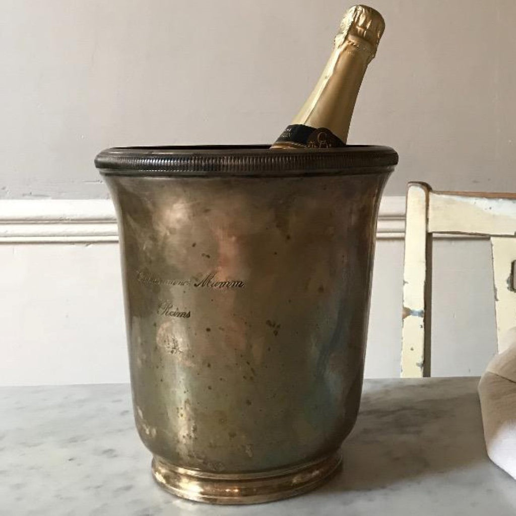 Silvered Champagne bucket
