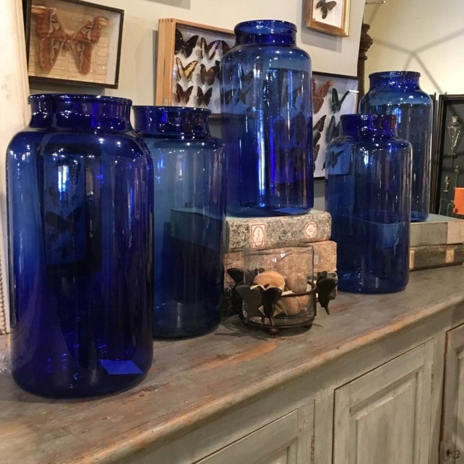 Cobalt Blue Glass Vessels